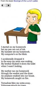 kenn nesbitt my mother does my homework