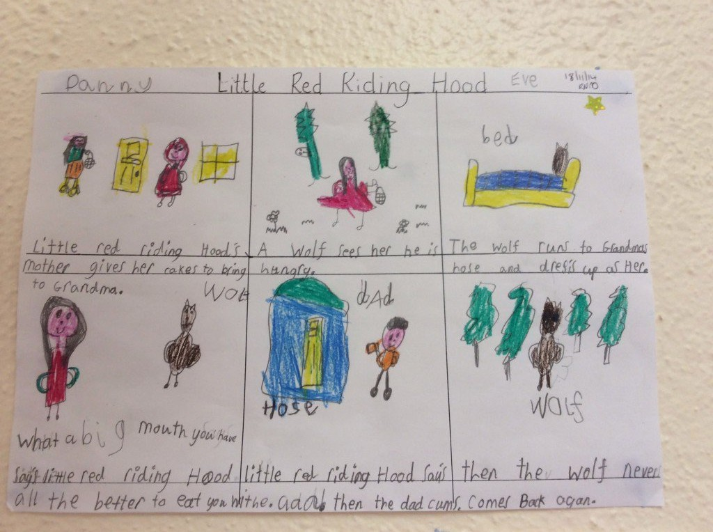 Little Red Riding Hood News From Inver National School