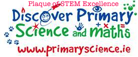 Plaque of STEM Excellence 2014-15